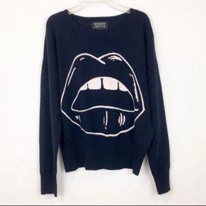 Markus Lupfer Lara Lip Jumper Sweater in Blue S
